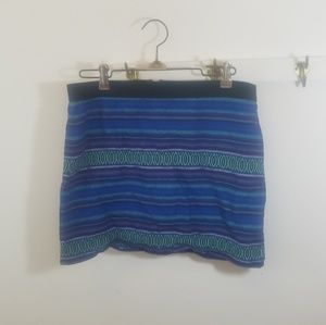 American Eagle 4 tribal cotton vintage skirt